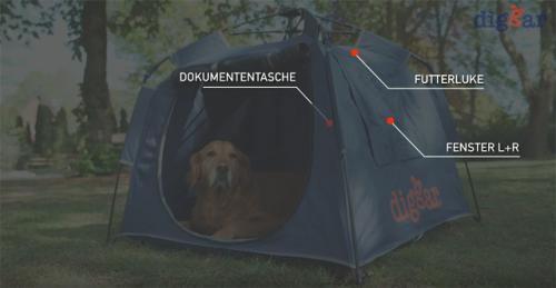 DIGGARBOX - Die mobile Hundebox